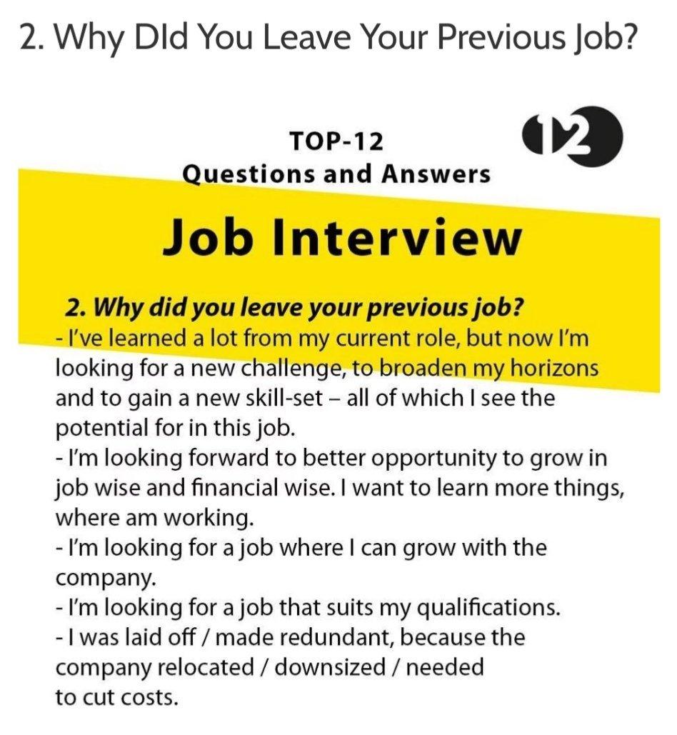 standard job interview questions - 736×736