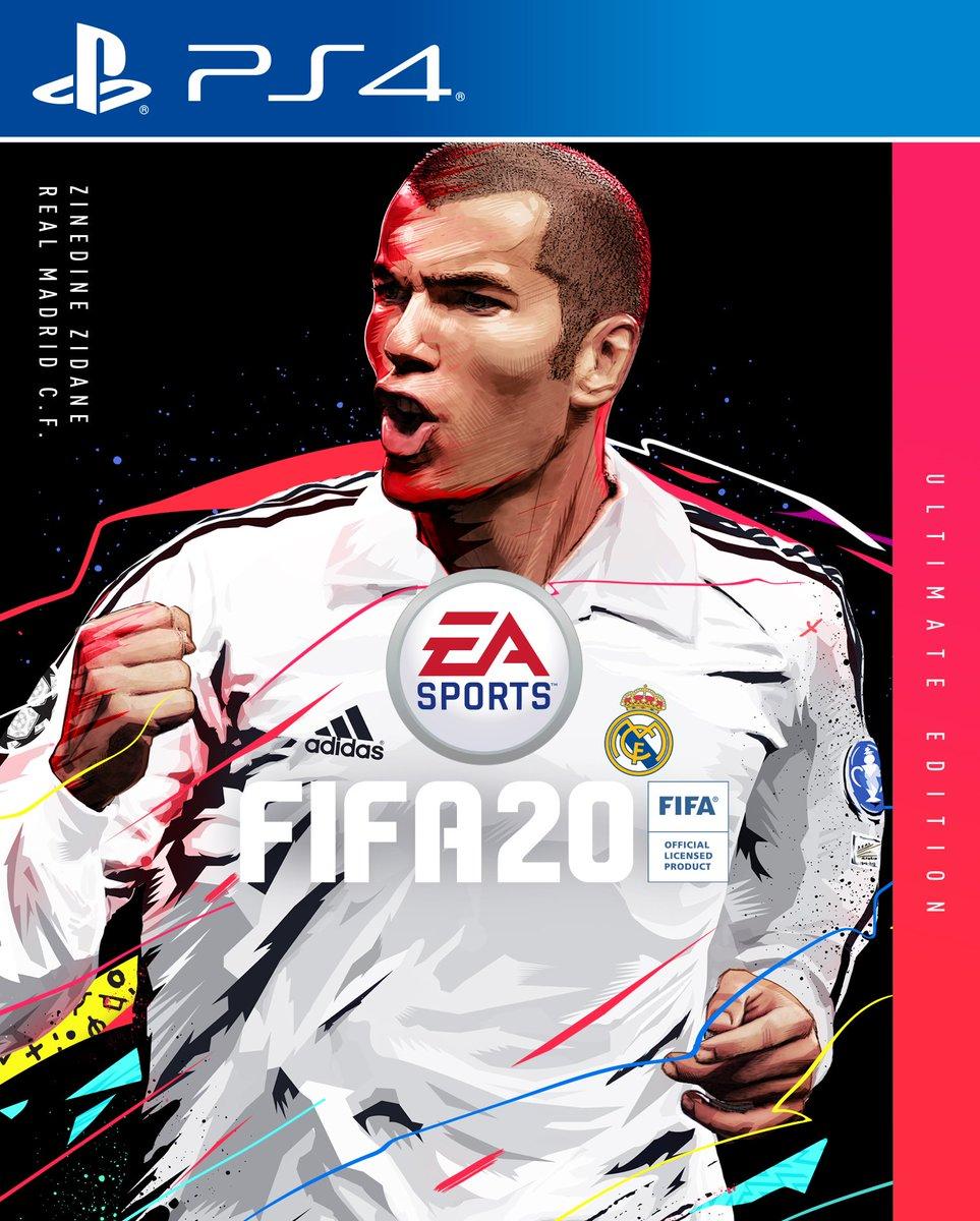 FIFA 20 Ultimate Edition: Zinedine Zidane auf dem Cover