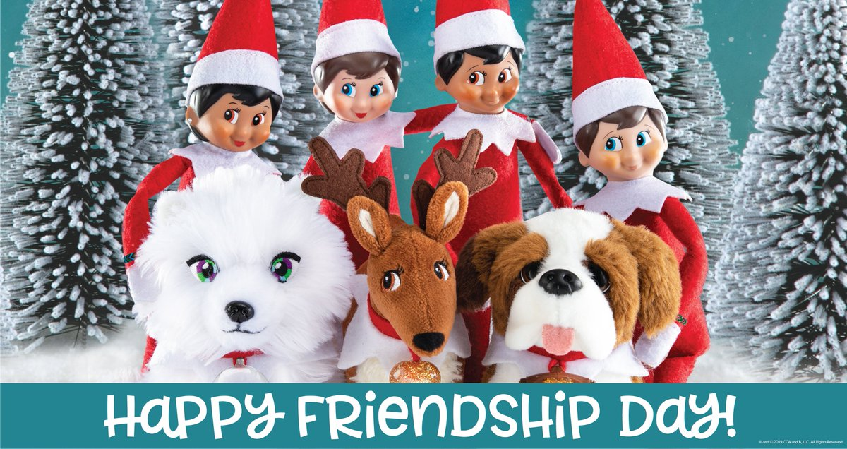 Did you know Scout Elves have best friends? The Elf Pets of