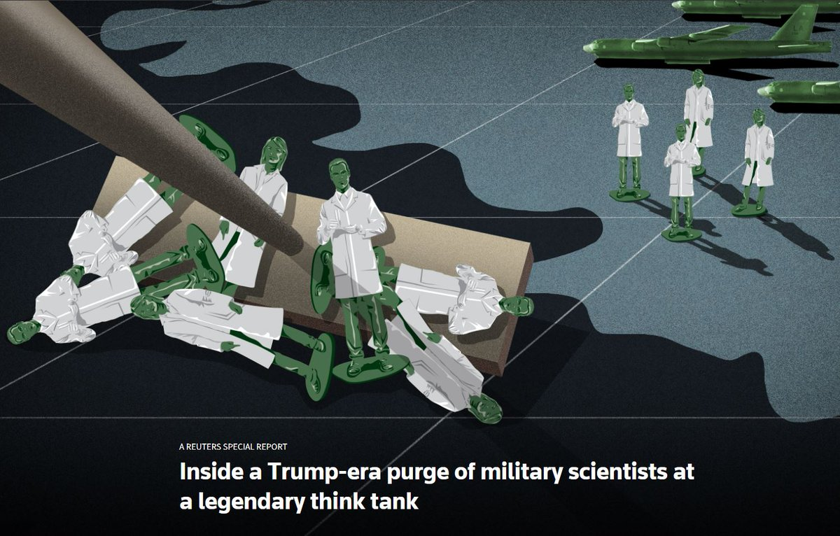 A Trump Pentagon appointee unexpectedly moved to terminate a prestigious panel of military scientists known as Jason. @specialreports investigates the purge and what it means for the escalating conflict between the administration and science https://reut.rs/2SS1ZaB