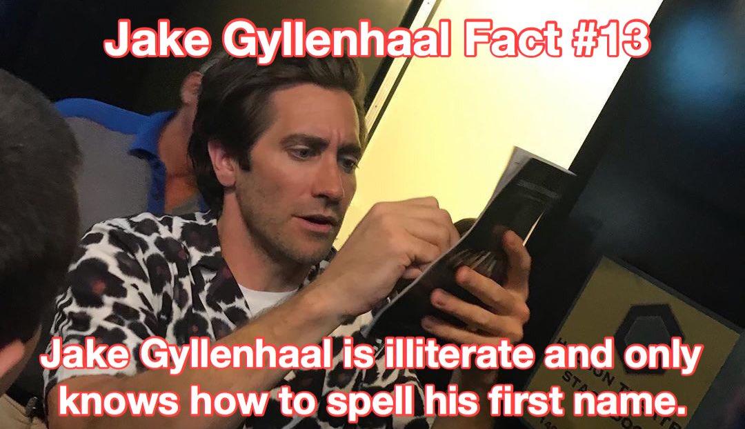 jake gyllenhaal facts (@GyllenhaalFacts) on Twitter photo 30/07/2019 13:29:20