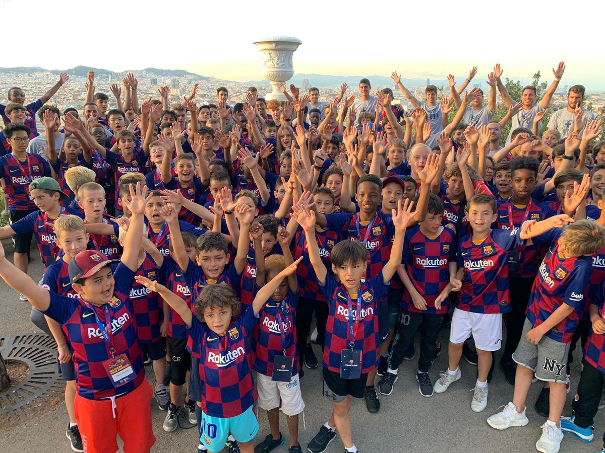 We had a fantastic experience in Barcelona organizing our first ever  #BarçaAcademySummerCamps  We hope you've enjoyed these weeks with us! Hope to see you again on 2020!