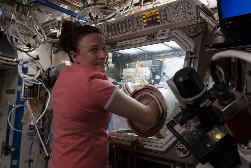 NASA astronaut Serena Auñón-Chancellor, currently orbiting Earth as part of the International Space Station's Expedition 57 crew,will answer questions from students at New York's University Prep Charter High School. go.nasa.gov/2NWVlBd #NASA #EPDC