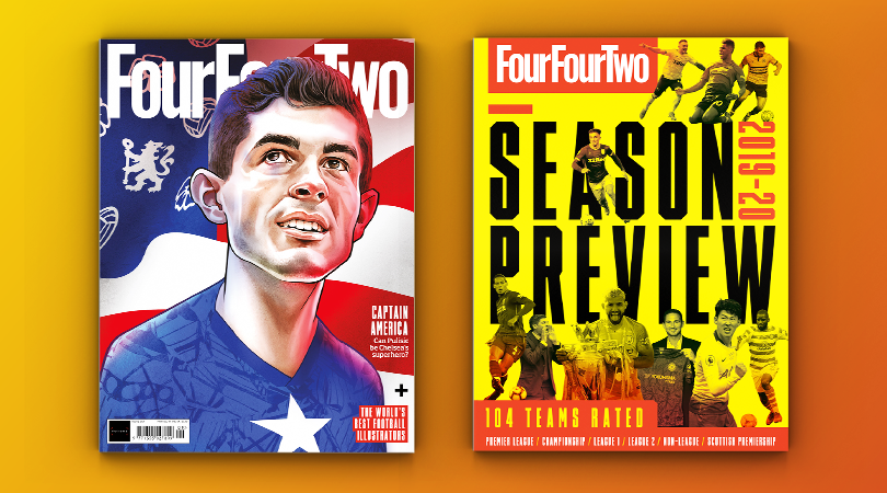 SEASON PREVIEW  📊 104 Teams Rated 💠 Premier League  🔶 Championship 🔹 League One 🔸 League Two  🏴 Scottish Premiership ▫️ Non-League  🇺🇸 @AndyMitten gets to know @cpulisic_10  🎨 World's Best Football Illustrators  PRE-ORDER, HERE: https://t.co/wpA3AqtKvT https://t.co/tvOnXXwZ1x