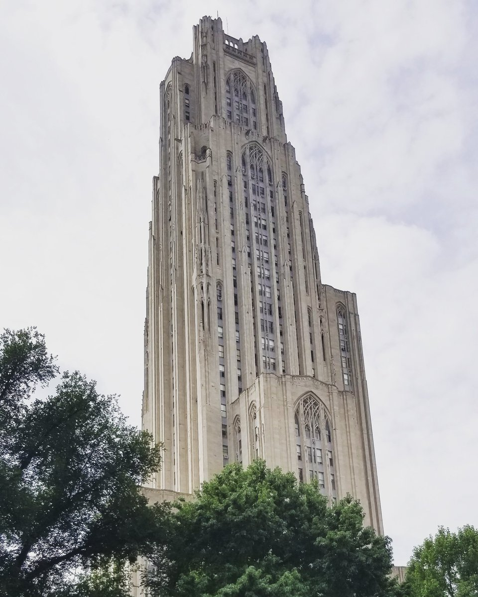 Our @BrightsparkUS group is touring @PittTweet! Pictured is the Cathedral of Learning which is the second tallest educational building in the world! Learn this and more on a tour with #potomactours! #collegetour #seetheusa #studenttours #Pittsburgh #Pitt<br>http://pic.twitter.com/zRJ4BEbfwY