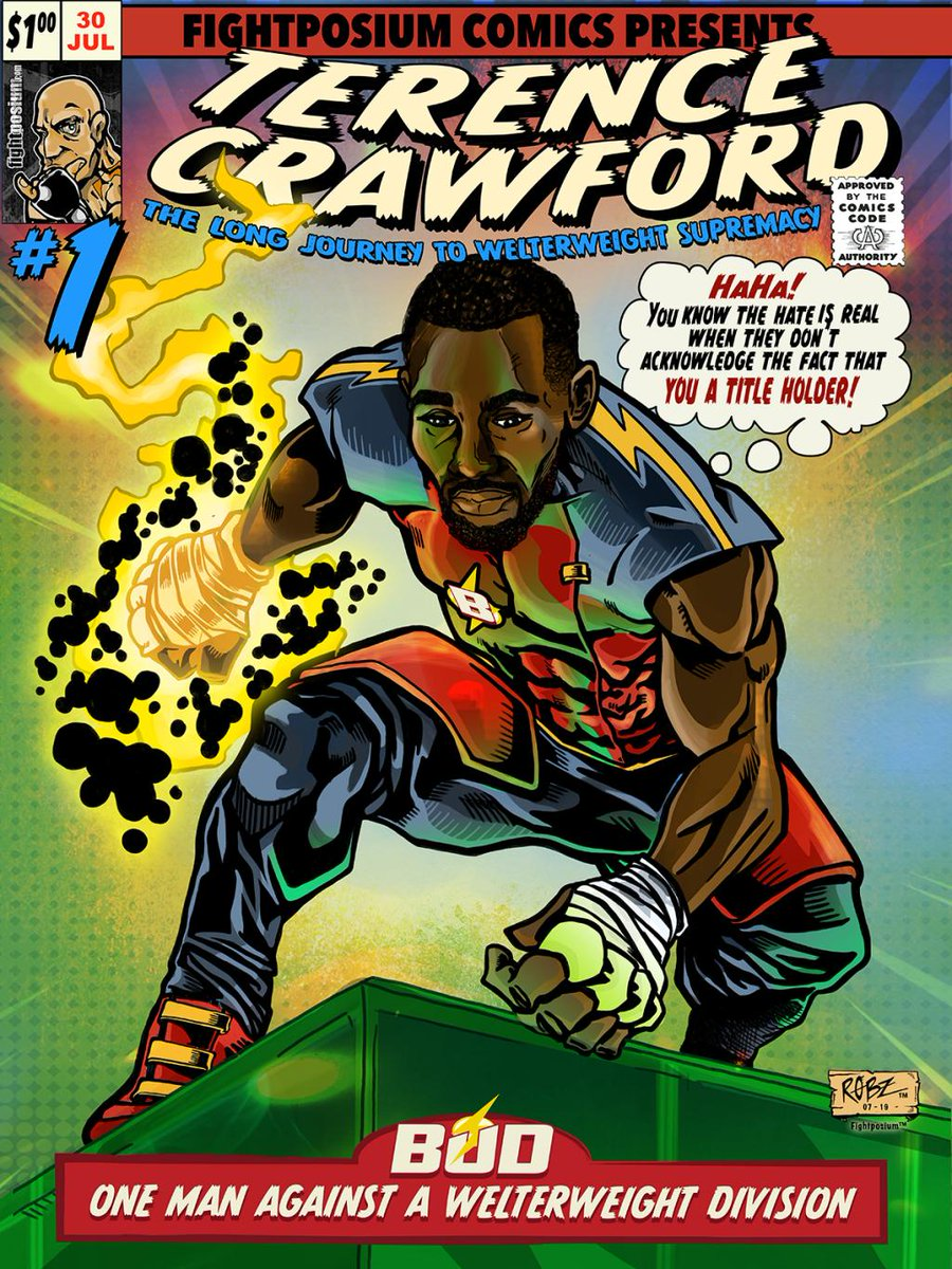 Here's the Fightposium #pacThurman Easter Egg! Terence Crawford - One Man Against A Welterweight Division! @terencecrawford @Woodsy1069 #boxing #comicbooks https://fightposium.wordpress.com/2019/07/30/terence-crawford-one-man-against-a-welterweight-division/…