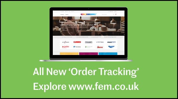 Image for BRAND NEW 'ORDER TRACKING'!