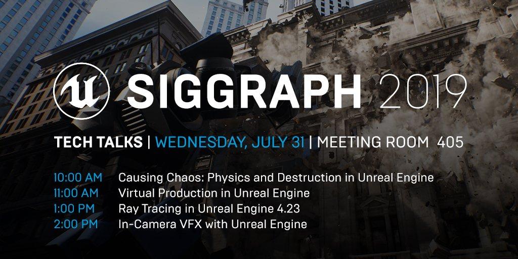 At #SIGGRAPH2019? Don'