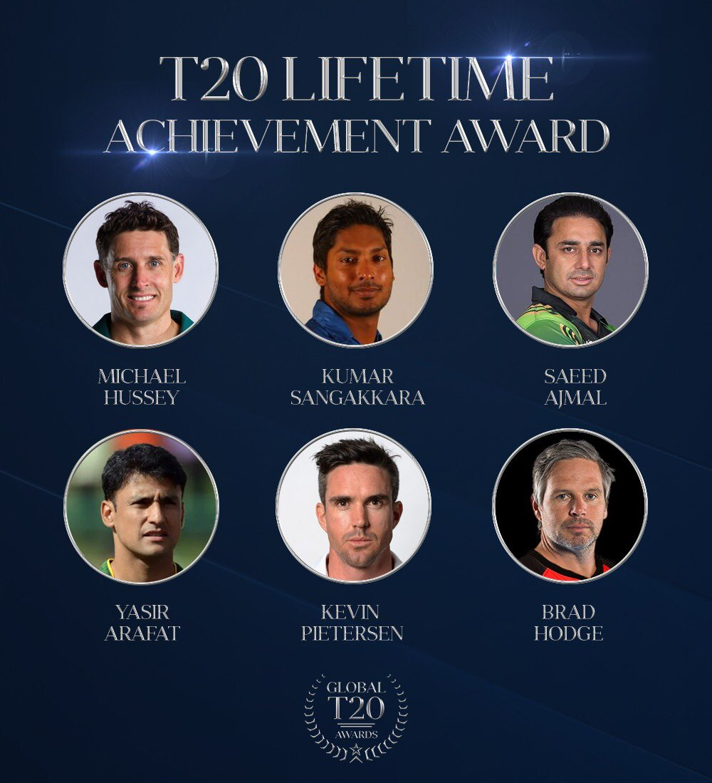 This award is for the T20 cricketer of all time. The kind of cricketer whose name is synonymous with the T20 format. Vote now: t20awards.com/vote #T20awards #CelebratingT20cricket