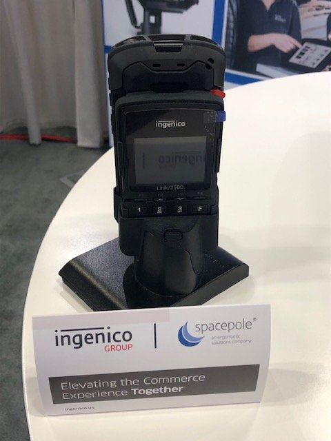 test Twitter Media - #RSPARetailNOW2019 booth 532 - come and see the SpacePole Duo mobile POS sled that pairs @ZebraTechnology and @IngenicoNA to create a pay-anywhere mPOS solution #retailNOW #IngPartner #partnerships https://t.co/JQPIV0Khqy