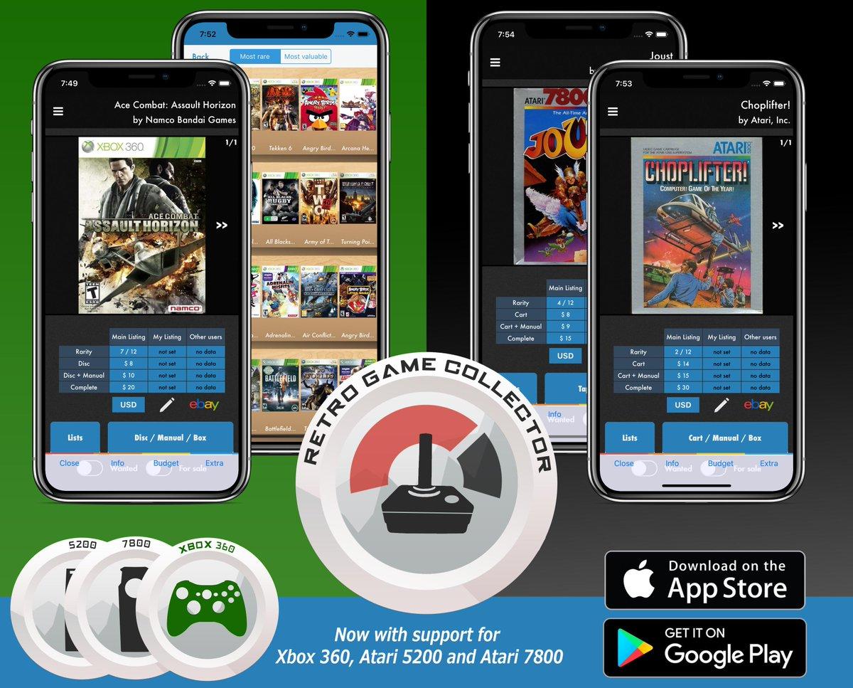 Retro Game Collector app - PureGaming org (@puregamingorg