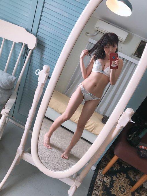 グラビアアイドル桃月なしこのTwitter自撮りエロ画像22