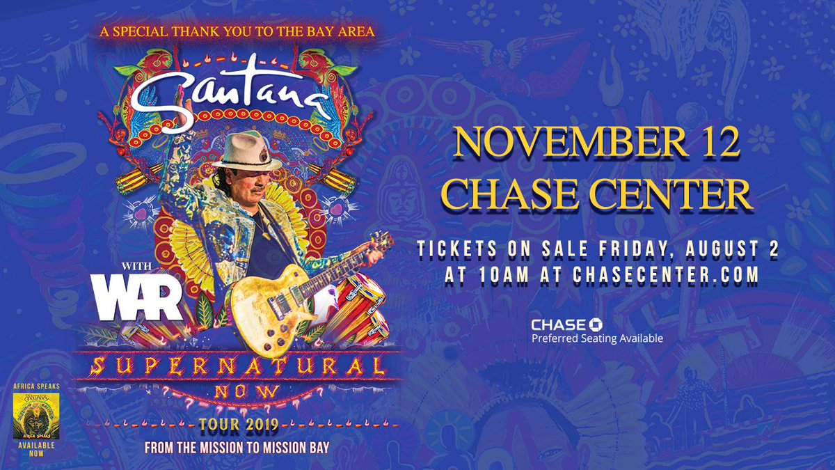 @Ivan_gr97 45 minutes until the Supernatural Now Tour with @SantanaCarlos goes on sale! You don't want to miss his special thank you to the Bay Area!   Hop in the queue now » https://t.co/VhN2BqsNWa Reply #stop to opt out of updates. https://t.co/W5ri2IWhLj