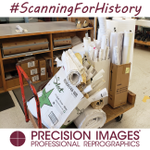 Did you know #PrecisionImages does large format scanning? It's true. We just got all these rolls in from an architecture firm & we'll scan and digitize all of them for the future. #HistoryIsImportant #OldPlans #Scanning #Digitizing #ScanningForHistory #ScanningForPosterity