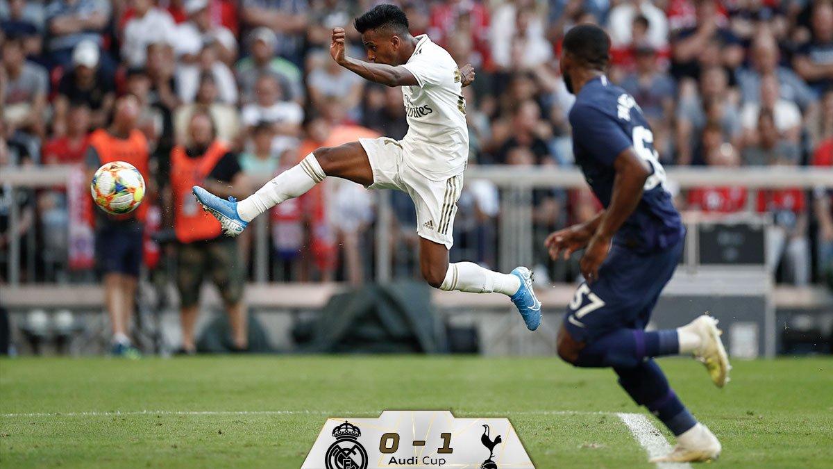 Tottenham bat le Real en amical