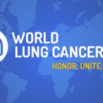 Image for the Tweet beginning: Thursday August 1st is #WorldLungCancerDay: