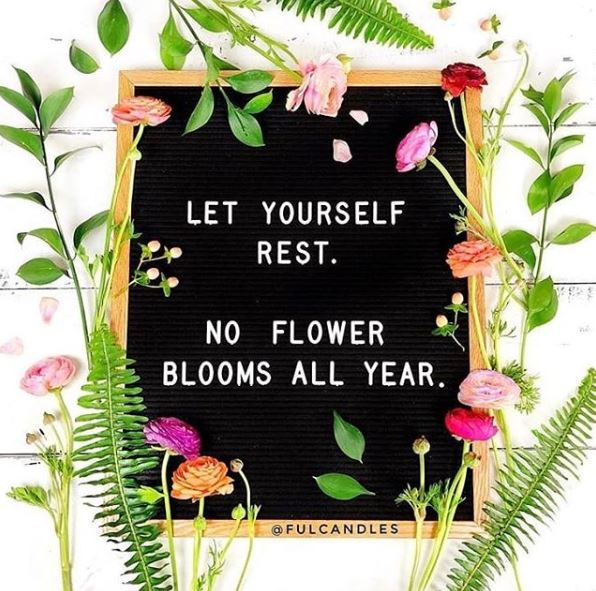 Self-care is important - during and after pregnancy.  An important reminder by @fulcandles 🌼 🌷 #YourBabysMum #WellbeingPlan https://t.co/uxgnlGqibH