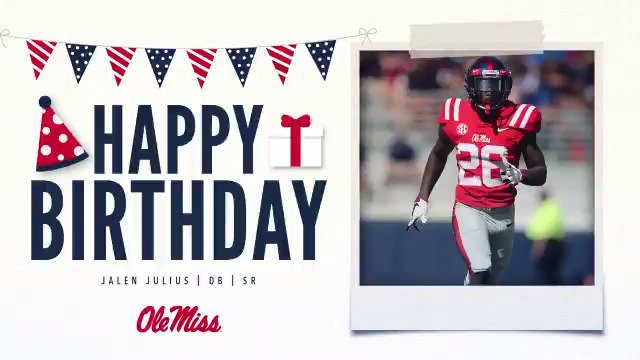 BIG Birthday shoutout to Jalen Julius! #BirthdayReb