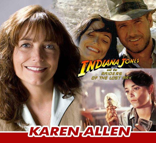 Meet Karen Allen at the Steel City Comic Con - August 9-11, 2019! Best known for her role as Marion Ravenwood in Indiana Jones.BUY TICKETS: https://www.steelcitycon.com/buy-tickets/#SteelCityCon