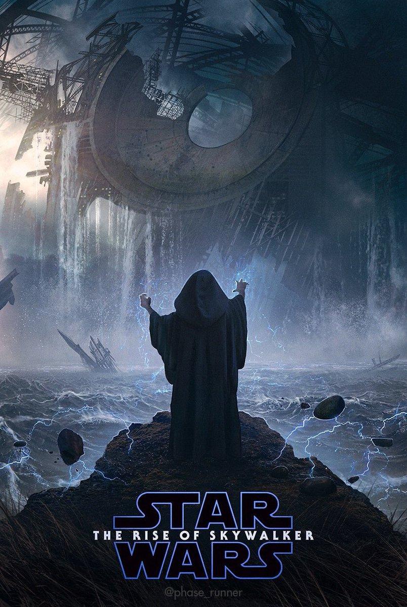 The Star Wars Underworld Blm On Twitter The Rise Of Skywalker Poster Artwork Created By Phase Runner Starwars Theriseofskywalker Art B