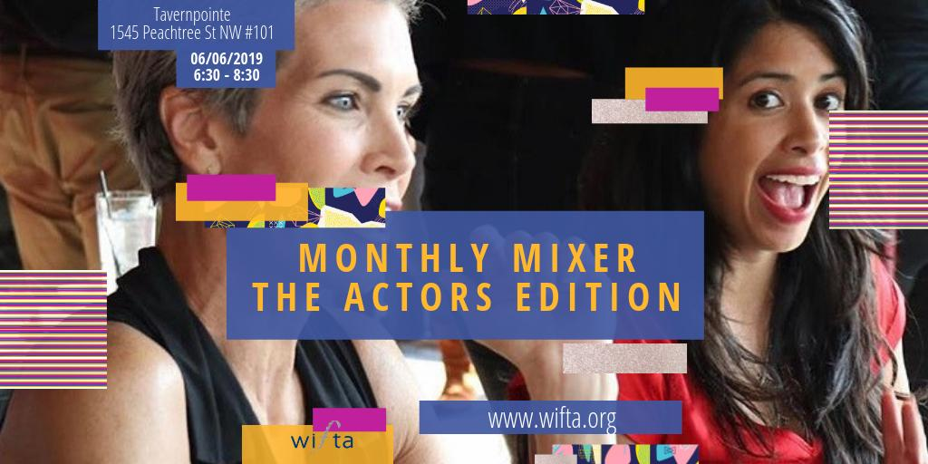 Calling all actors! We'll see you Thursday. This #MonthlyMixer is for you!!! #ActorAtlanta #Mixer #ActorEvent