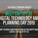 Meet the @Captify team on the ground at @LVIMA's Digital and Planning Day this week. Book a meeting or join us for Happy Hour! #LVIMA #DigitalMarketing