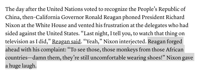 The new Reagan tapes are ugly, but not surprising, to a lot of black Americans