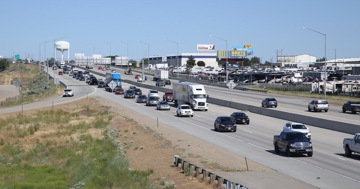 By Photo Congress || Traffic On I 84 Boise