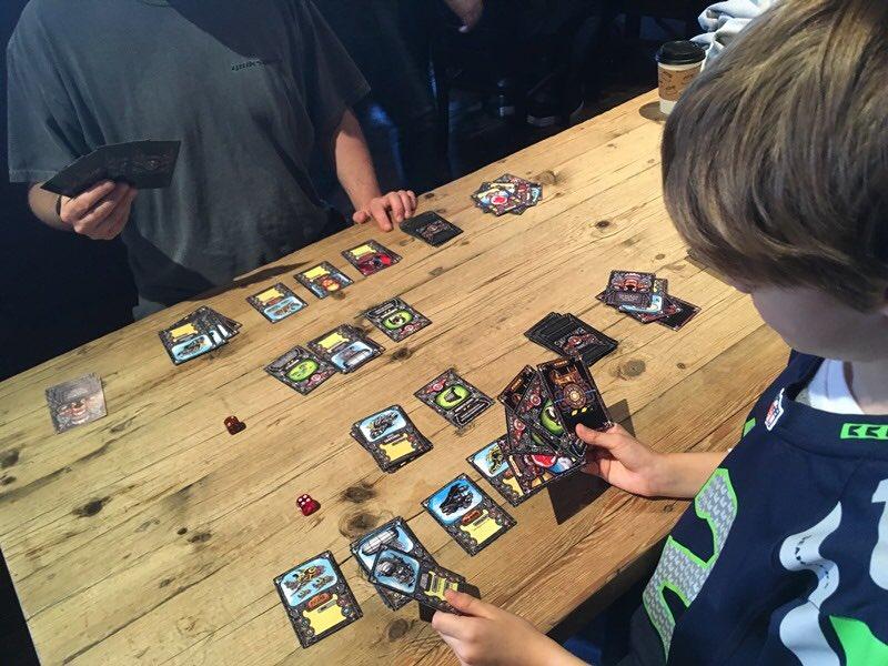 #Geek Awesome of the Day: #Steambattalions #Steampunk ⚙️ #Dieselpunk Battling Card 🃏 Brawler #Boardgame via @SteamBattalions #SamaGames 🎮 #SamaGeek 🤓