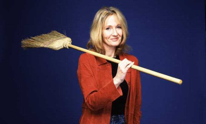 Happy birthday, J.K. Rowling! (And to Harry too!)