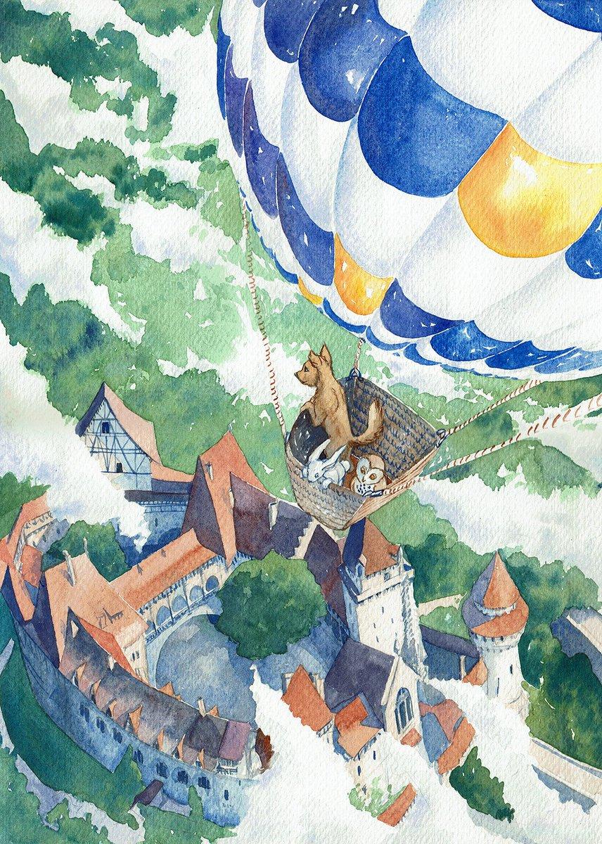 @JudithDahmen @TheQuestABC @BonnieBellG @JimTheLibrarian @pqhiggins @MarkOrdesky @harveyfleming @susannschka @iamjanhutter @PeterWindhofer @DenardoMarcello I made so much art inspired by @TheQuestABC @TheQuestArmy . Here is an original featuring Burg Kreuzenstein a.k.a. 'Castle Saenctum' I LOVE castles with red rooftops. <3