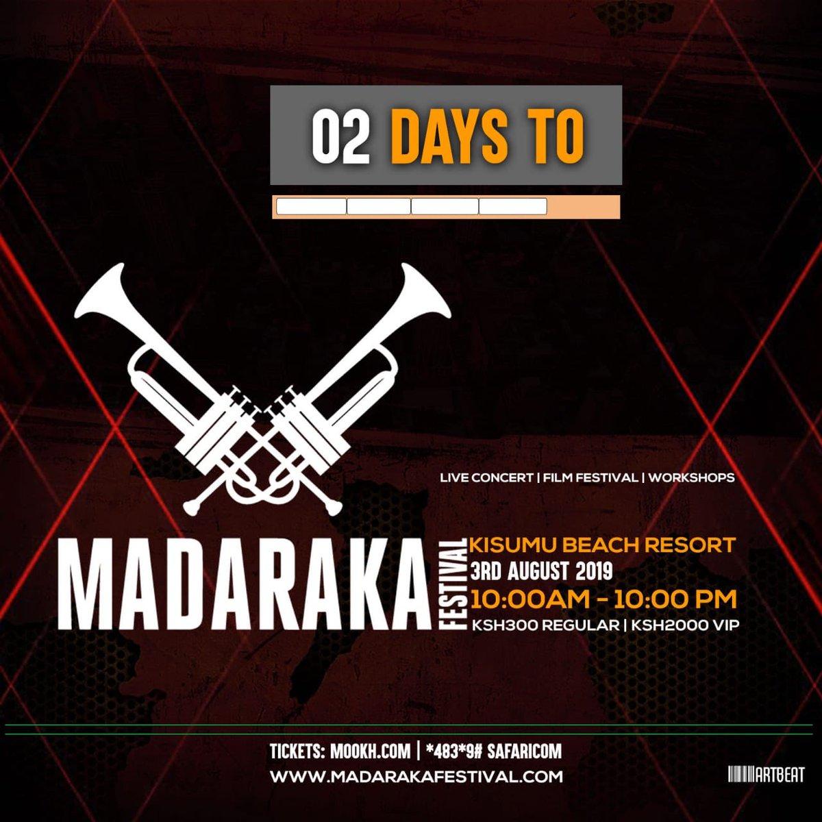 Good morning Nairobi. I am here for @MadarakaFest254 #MadarakaFest2019