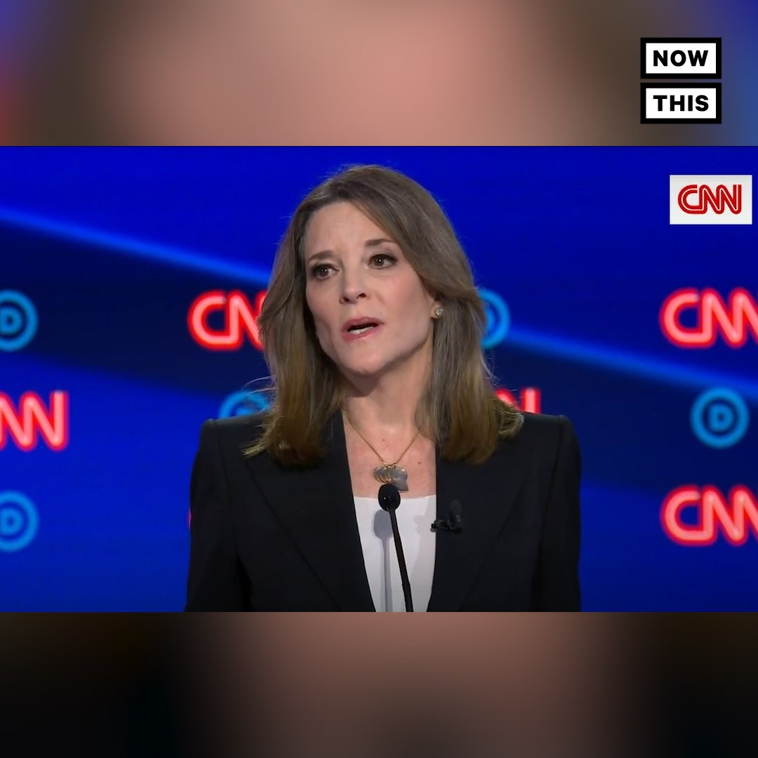 WHO KNEW THIS? 'Flint is just the tip of the iceberg.' — Williamson addressed the relationship between environmental injustice and America's 'dark underbelly' of racism #DemDebate