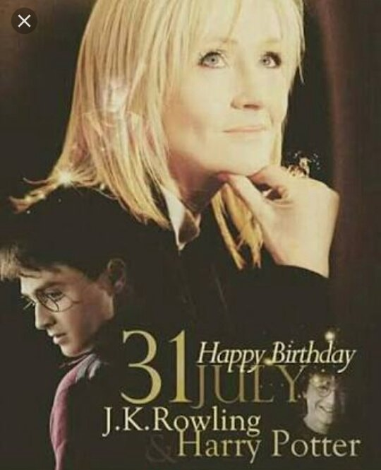 Happy Birthday J. K Rowling Writer For Harry Potter Book Seried