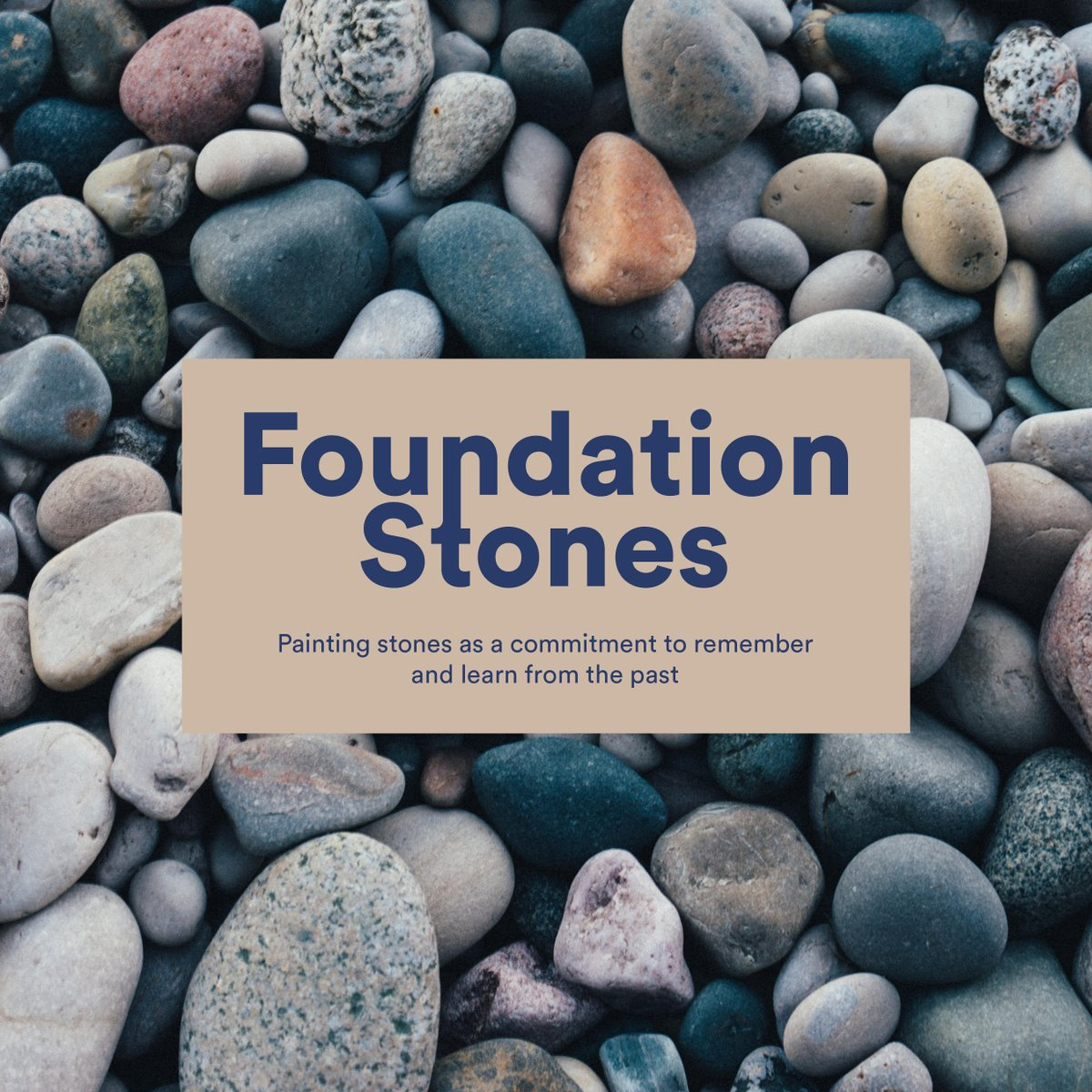 Big Ideas On Twitter Your Painted Stone Will Be Laid Within The Foundations Of The New Uk Holocaust Memorial And Learning Centre Each Foundation Stone Is A Commitment To Remember And Learn