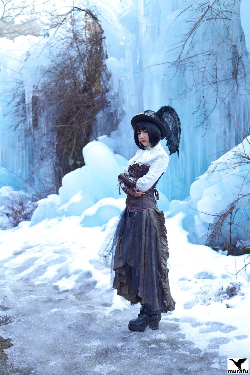 暑いので、樹氷祭りの写真でも  #咲羅レイン さん @_rain_sakura  #スチームパンク #樹氷祭り #写真撮ってる人と繋がりたい  #ポートレート好きな人と繋がりたい   #ファインダー越しの私の世界 https://t.co/pbiCPorCwr