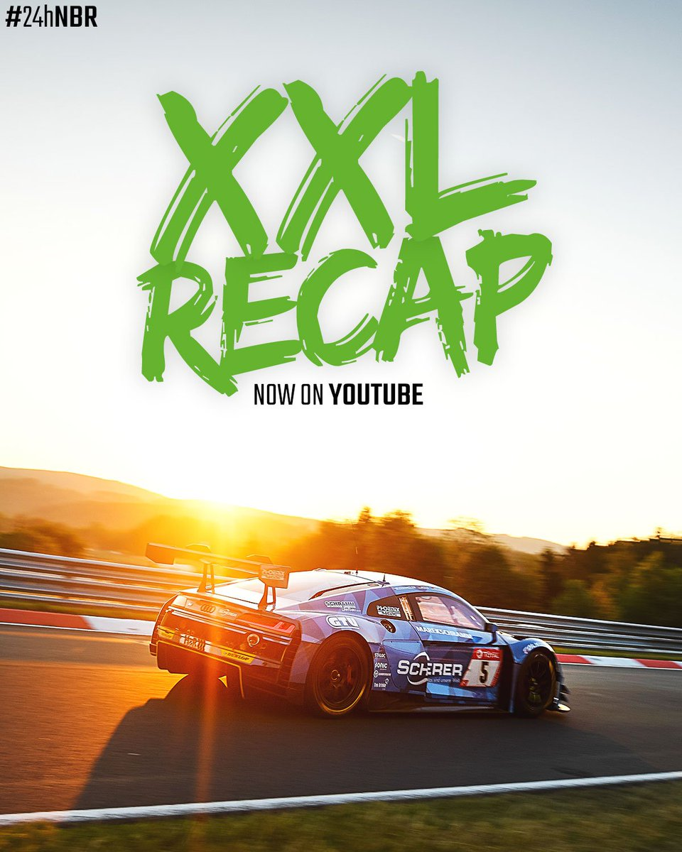 Check out the 1h-Recap of the #24hNBR 2019 👉 go.24h-rennen.de/YouTube
