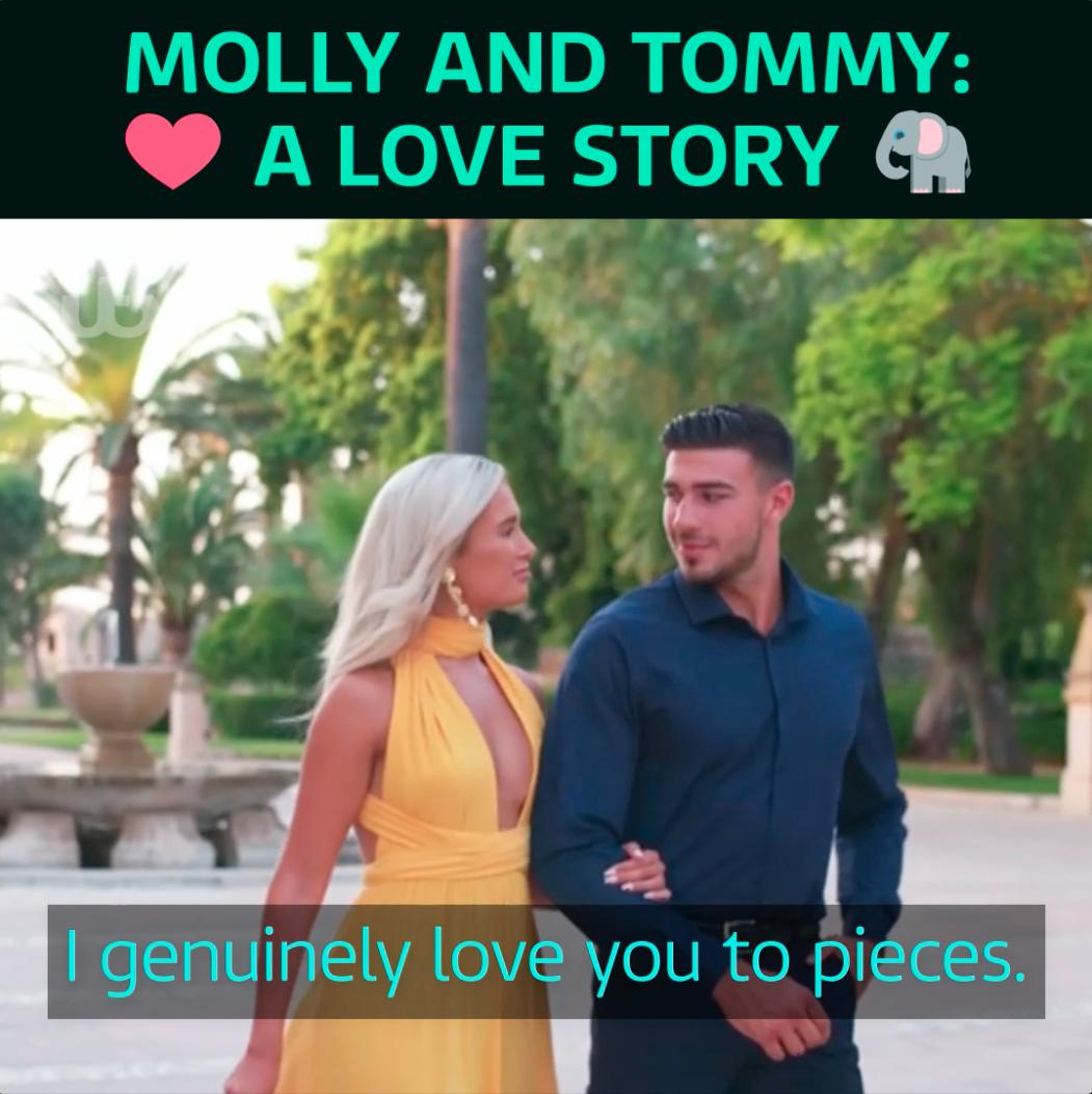 It was the love story of the summer and a time they'll never forget 😍#LoveIsland @LoveIsland @mollymaehague @tommytntfury