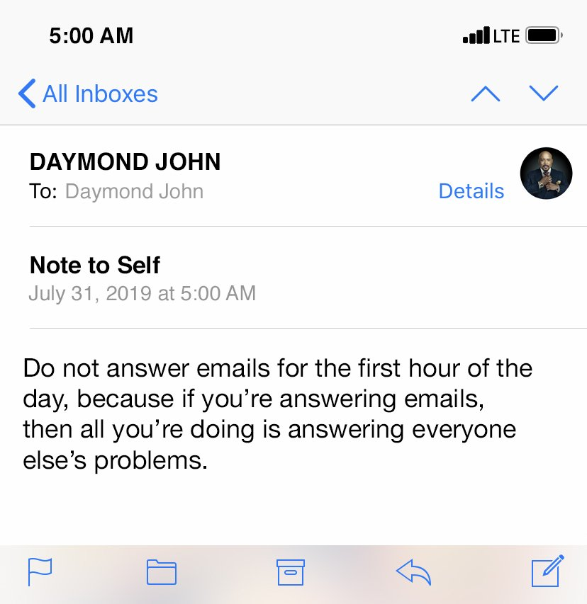 I Usually Stay Off Social Media, But I'll Sign On for These Tweets From Shark Tank's Daymond John