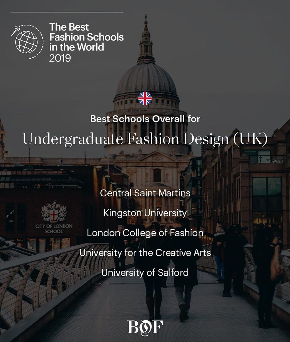 University Of Salford On Twitter Best In Learning Experience Best In Long Term Value Best Overall Bof Have Ranked Our Ba Hons Fashion Design Course As One In The Top Five Best