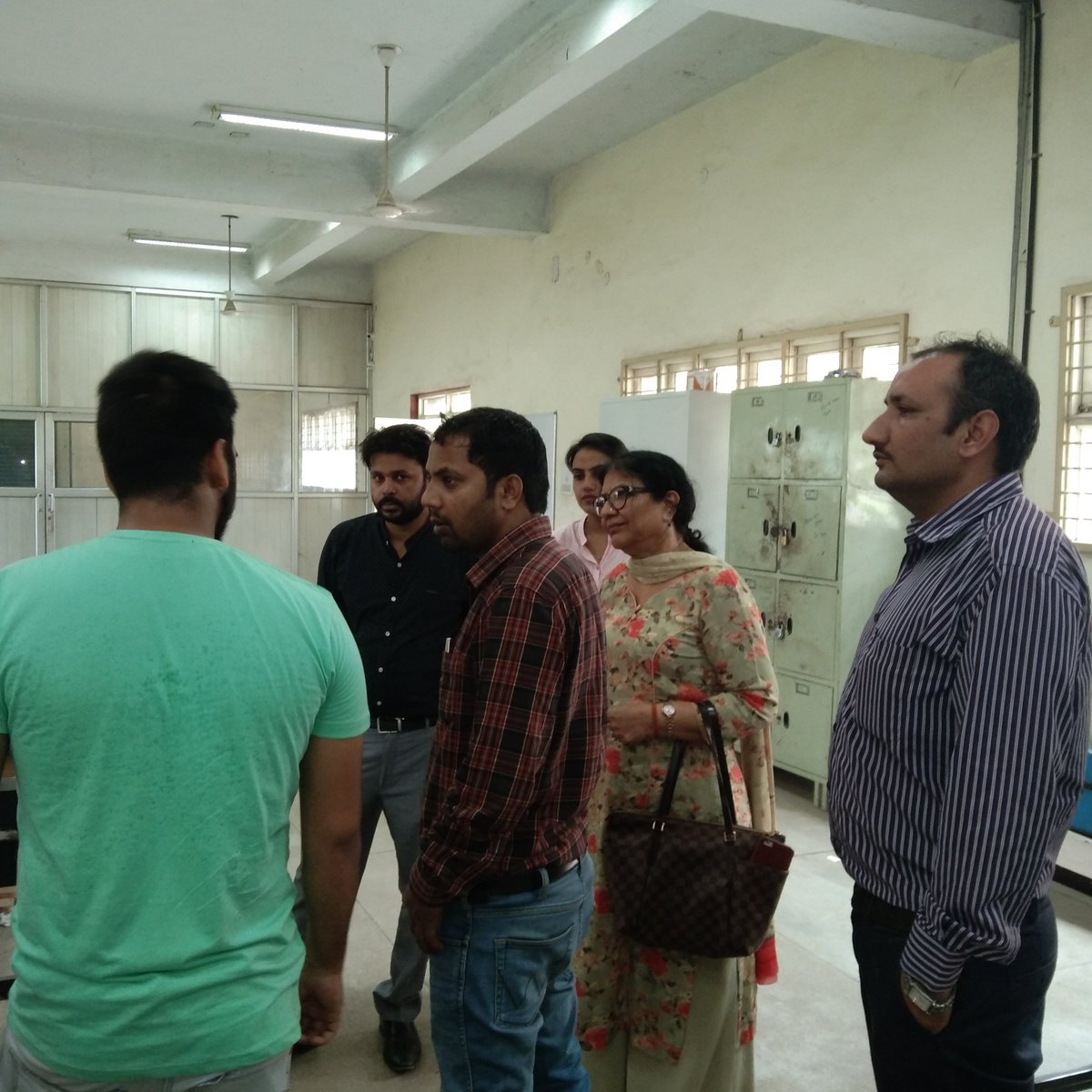 #MYMSME  A Team of TSA from PSDM chandigarh visited  CIHT on 30.07.2019 to see the activities undergoing at Ciht Jalandhar https://t.co/o5ZaHPghw4