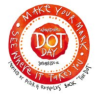 Yesterday (15th) was #Dotday a global celebration of creativity, courage and collaboration. An inspiration story about #makingyourmark a small dot is the #startofyourjourney #businessideas #Growth #Followyourdreams<br>http://pic.twitter.com/bDOOoZ2qYO