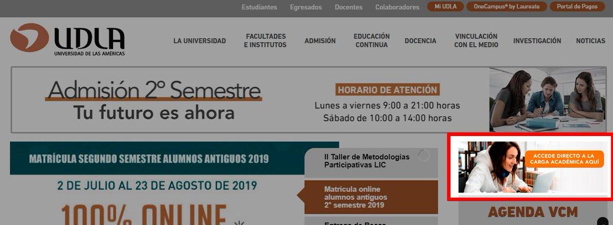Calendario Academico Udla 2019.Aviso Estimados Estudiantes Les Contamos Que Tambien
