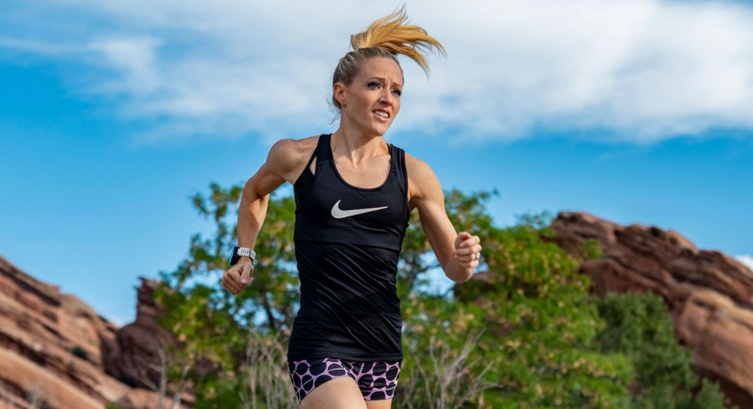 Meet the Funny Runner, Brittany Charboneau. She may be new to trail racing, but shes bringing the same spunky attitude shes always had towards life, improv and running. #findyourdirt #findyourvert #trailrunner #trailrunning buff.ly/2SP61Rm