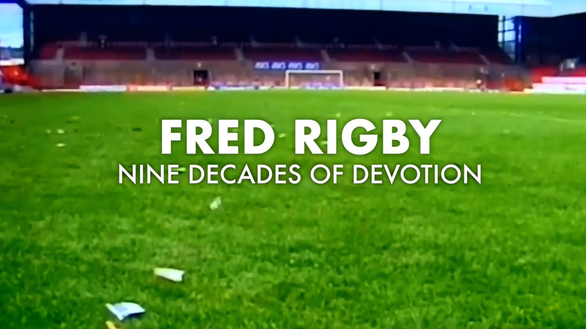 You may remember the story of Fred Rigby. A City supporter who gave us nine decades of devotion before his sad passing aged 100 earlier this year. At last nights Club Dinner, we celebrated his remarkable life. #SCFC 🔴⚪️