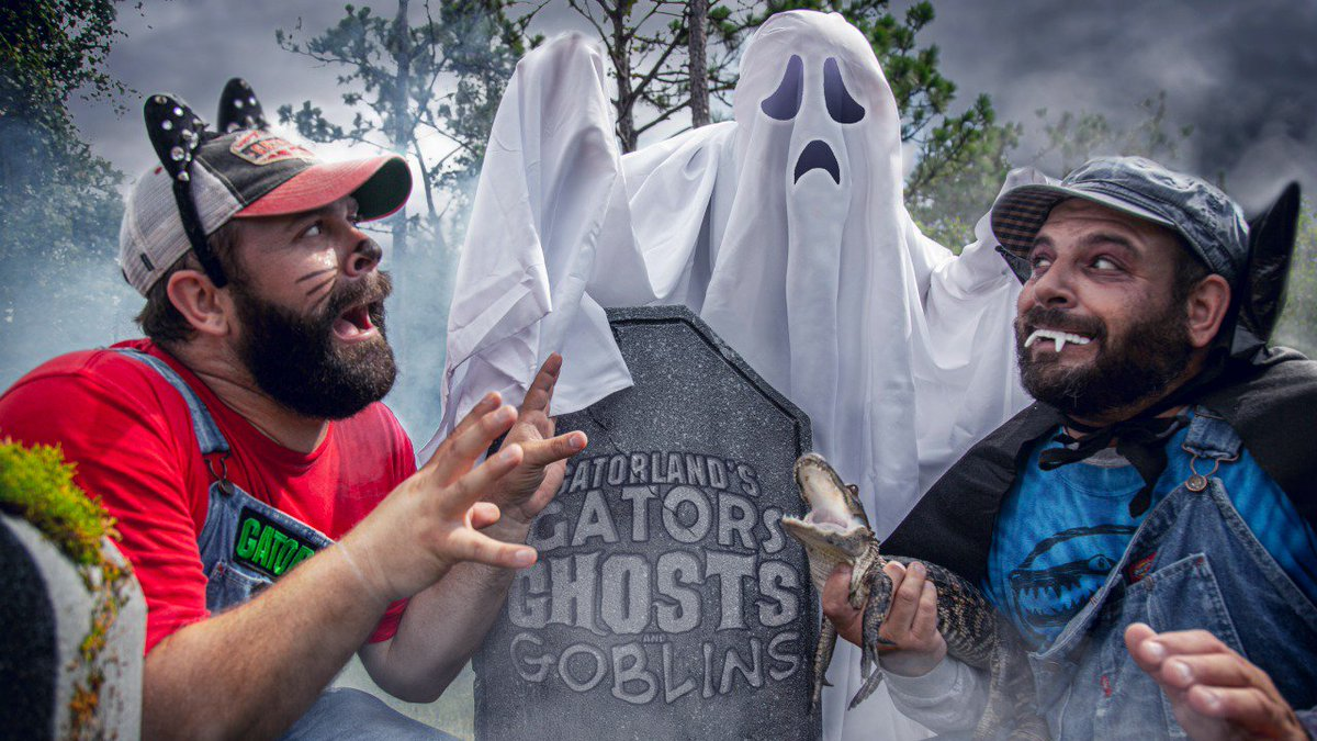 @Gatorland announces new Halloween event featuring gators, ghosts, goblins, and spooky fun    #gatorlandglobal  #gatorlandisawesome  #wearealligators   https://www. icflorida.com/entertainment/ attractions/gatorland-announces-new-halloween-event-featuring-gators-ghosts-goblins-and-spooky-fun/971468271  … <br>http://pic.twitter.com/59EfAXxfGe