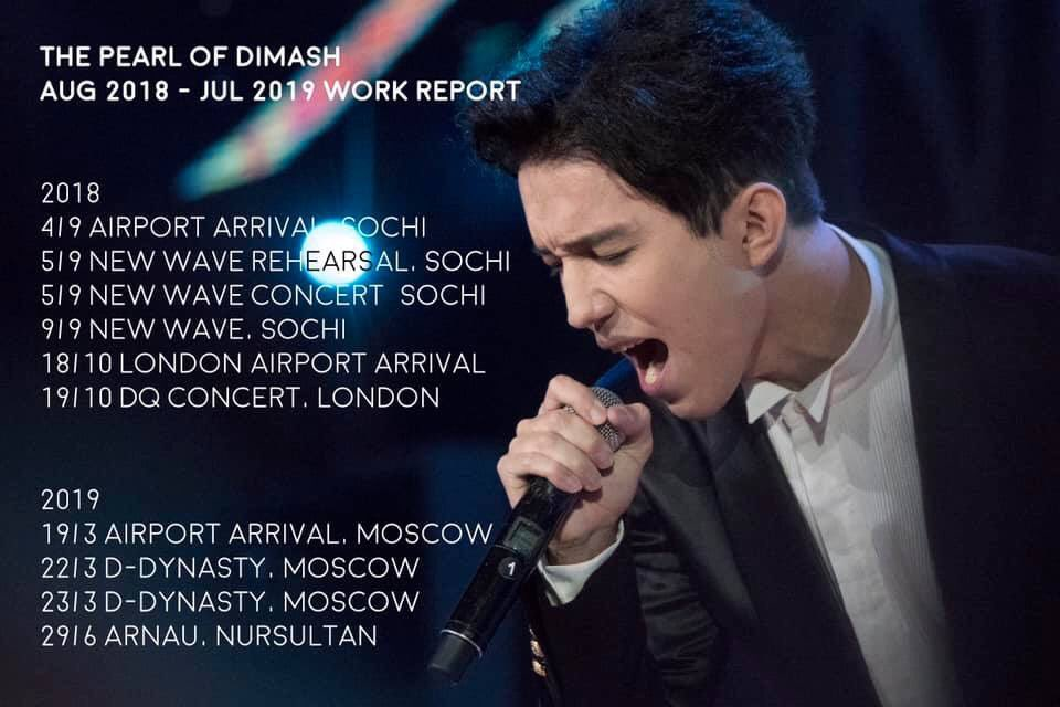 dimash hashtag on Twitter