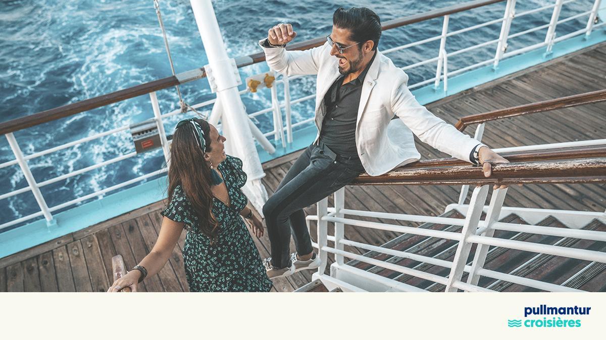 Lors de votre séjour à bord, vous vivrez comme dans un film. #NaviguonsIntensément #Croisière #Pullmantur https://t.co/Eu4E4J8PQq