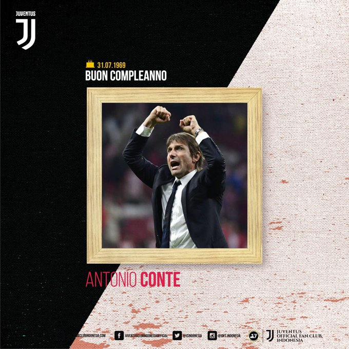 Happy 50th birthday to Antonio Conte!