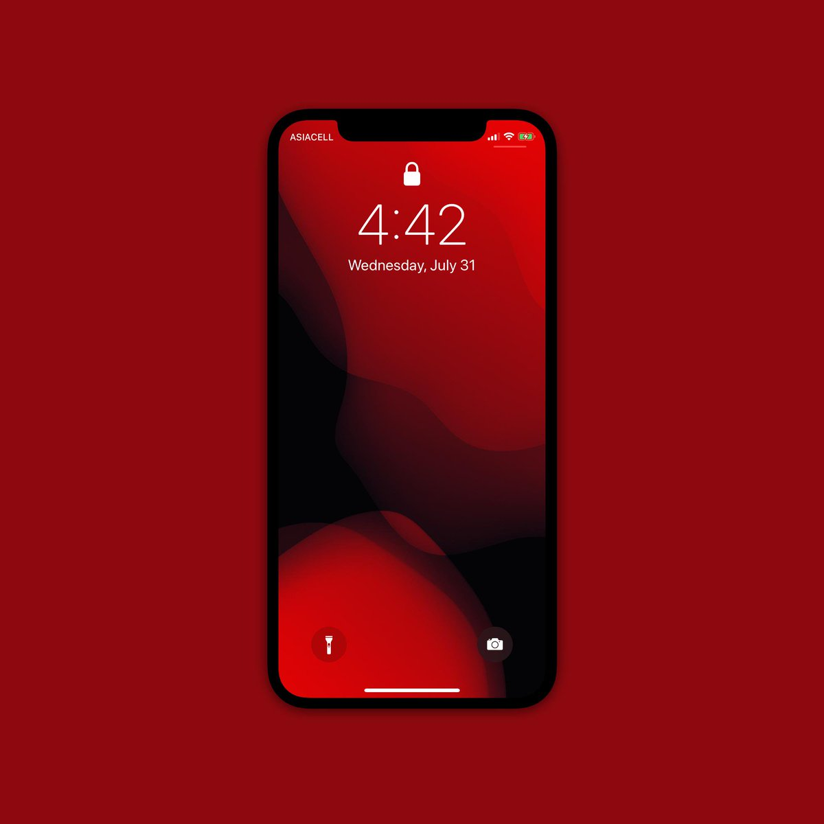 On Twitter New Ios 13 Red Wallpaper